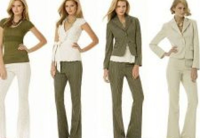 3 tinute de birou la moda in 2012
