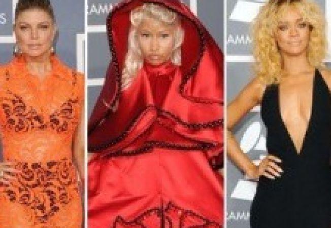 Tinutele reusite si neinspirate de la premiile Grammy 2012