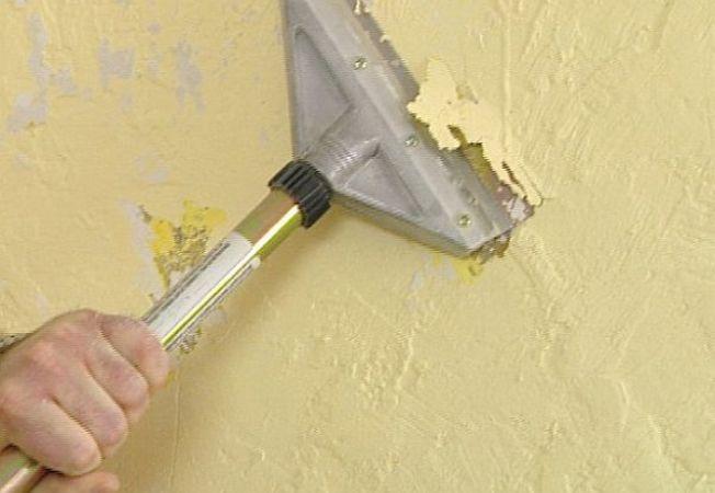 Cum sa indepartezi textura de pe un perete