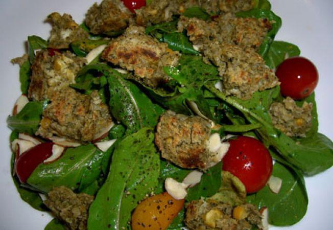 Retete de post: Salata de falafel