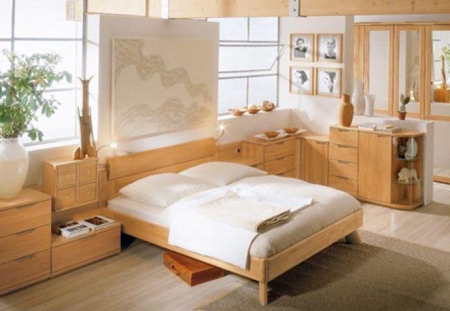 Decorarea dormitorului: stilul zen