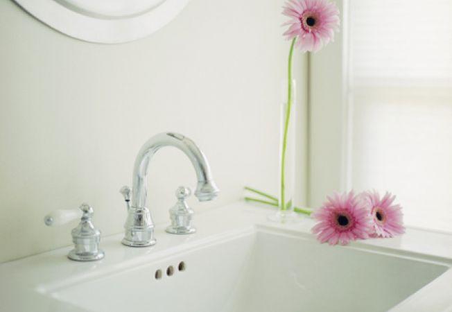 Curatenia de primavara in baie