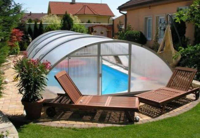 Acoperis pentru piscina modele si preturi for Amenajari piscine