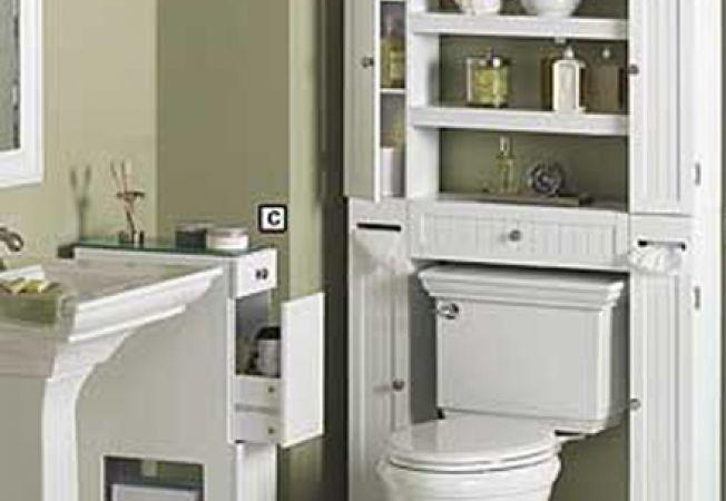 Cum exploatezi spatiul de deasupra vasului de toaleta