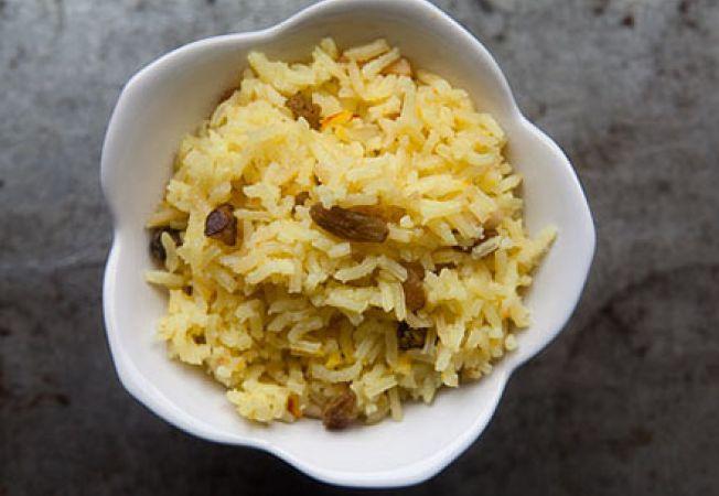 Pilaf de orez cu sofran