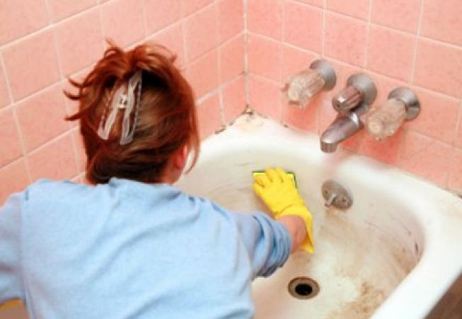 Cum sa cureti cada de baie