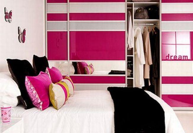 Idei pentru un dormitor roz