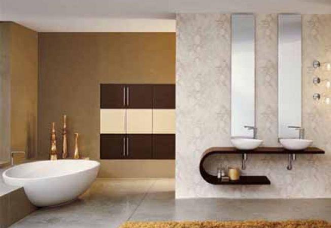 Mobilier de baie de lux: stiluri reprezentative