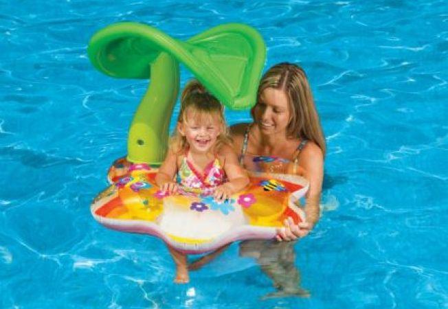 Siguranta copiilor la piscina. E vremea balacelii pentru cei mici!