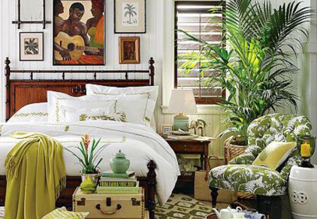 Stilul tropical in amenajarile interioare
