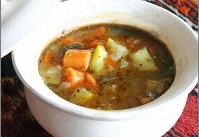 Supa de legume cu chimen