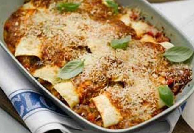 Paste cannelloni cu legume de vara