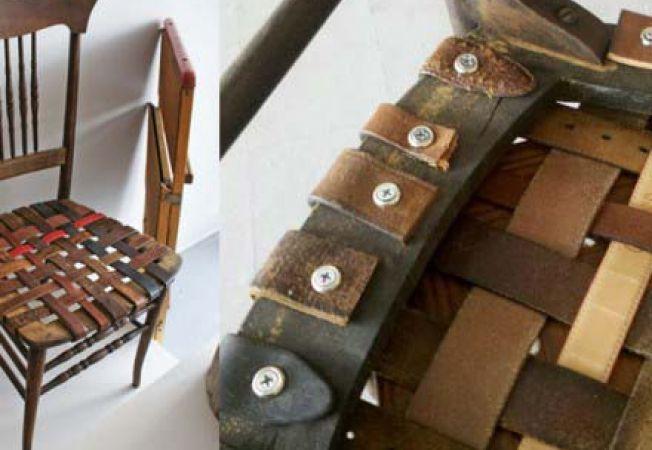 Modalitati inedite de a folosi o curea veche