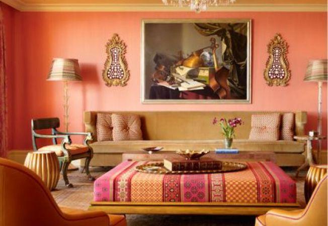 Idei de design interior in stil marocan