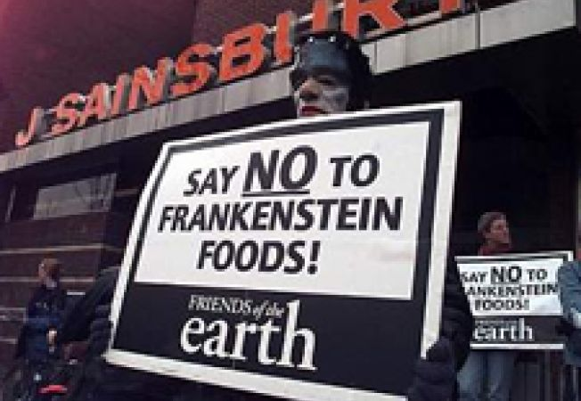 Proteste impotriva aprobarii animalelor modificate genetic