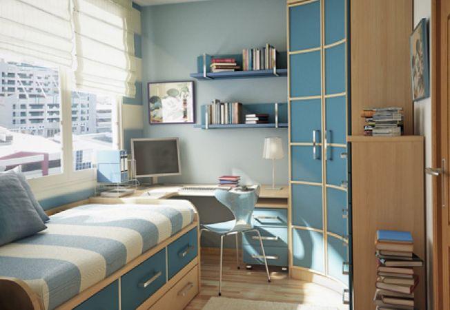 Variante de design pentru dormitorul adolescentului