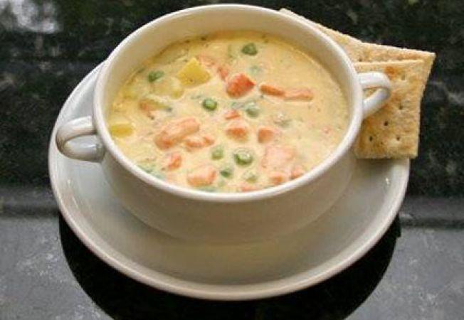 Supa de somon