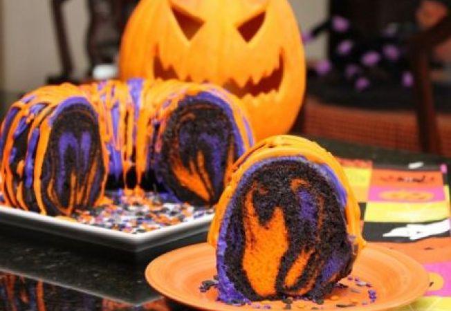 Prajitura pentru petrecerea de Halloween