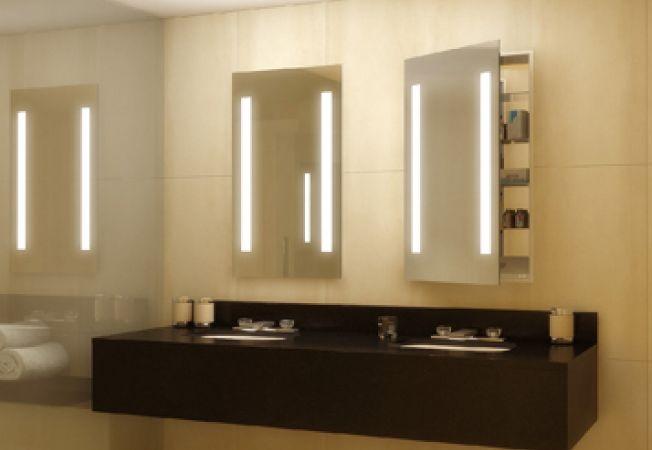 Infrumuseteaza baia cu ajutorul dulapurilor cu oglinzi