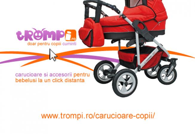 ADVERTORIAL: Carucioare pentru copii moderne, la cele mai mici preturi - Trompi.ro