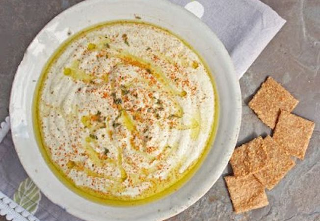 Hummus de dovlecei
