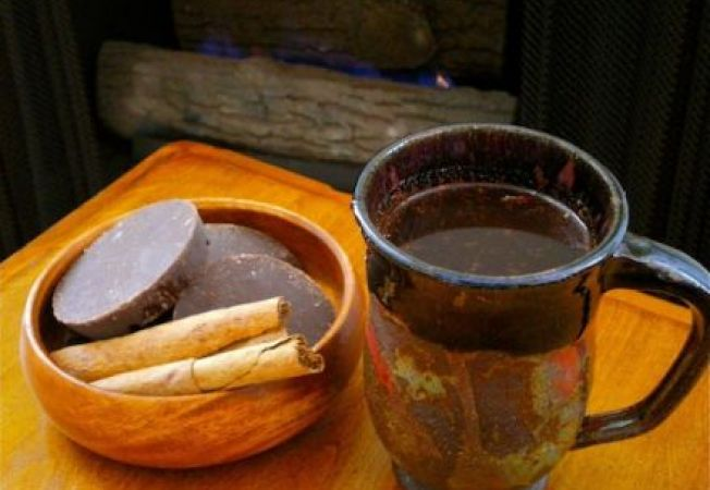 Ciocolata calda in stil maias