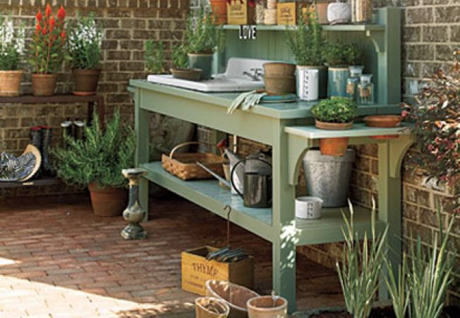 Construieste propria ta bancuta pentru plante