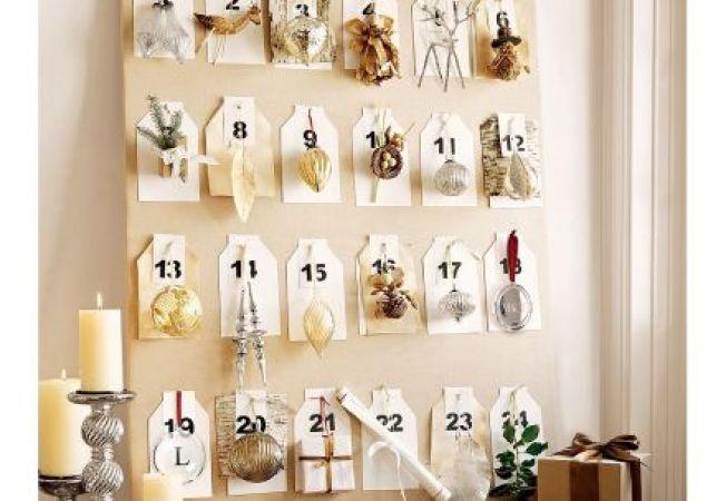 Invata sa realizezi un calendar cu activitati de Craciun