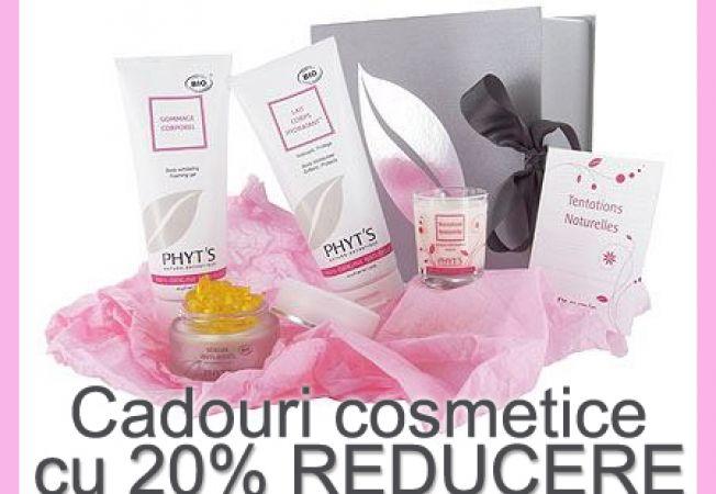 Cadouri pentru Craciun: Cosmetice Bio