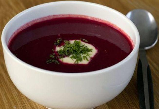 Supa de sfecla coapta