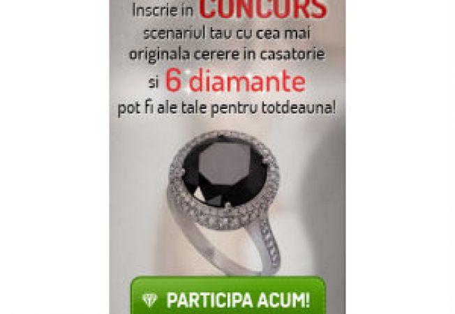 6 diamante veritabile sunt oferite pentru cea mai originala cerere in casatorie – un concurs marca iLUX.ro