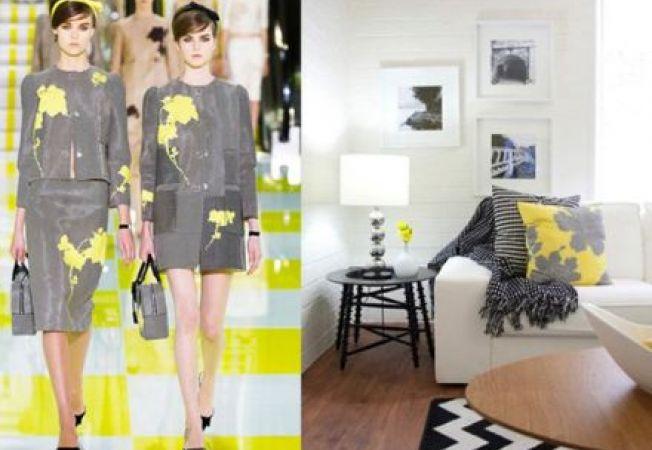 Moda si design interior: Adauga influente fashion in interiorul casei tale!
