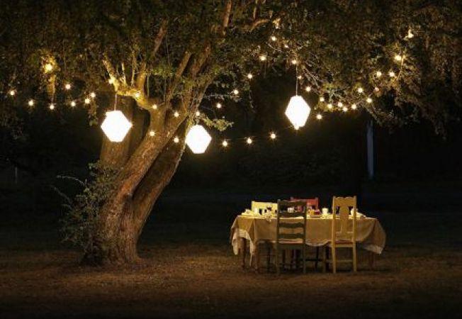 Cum sa ai o gradina frumos luminata pe timpul noptii
