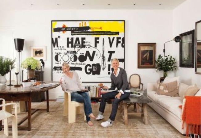 Casa impresionanta a actritei Ellen DeGeneres