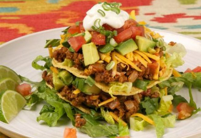Salata mexicana Tostada