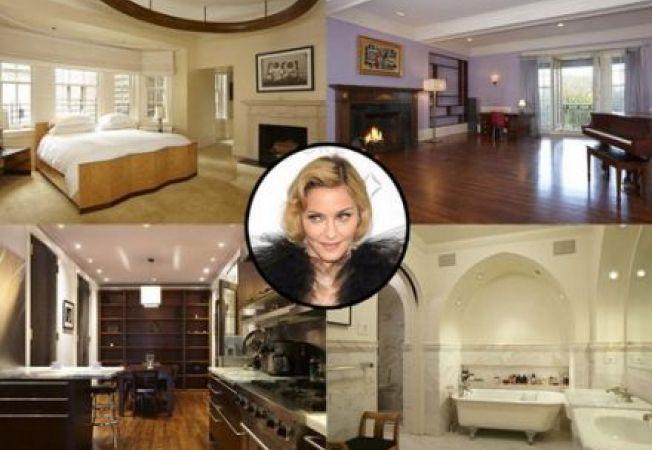 Casele vedetelor: Penthouse-ul Madonnei din New York