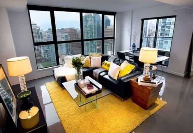 Idei de design interior in perechi de culori opuse