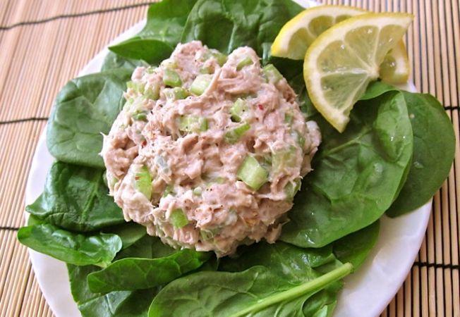 Salata de spanac cu ton