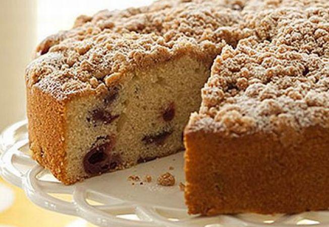 Tort aromat cu visine