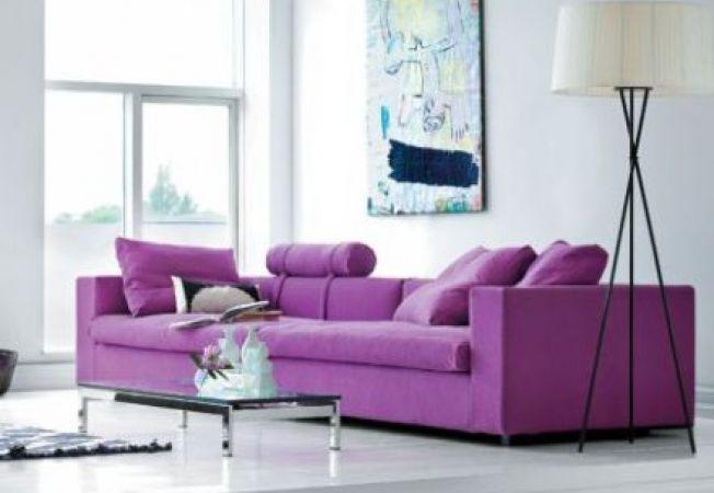 5 moduri de amenajare a casei, folosind culoarea violet