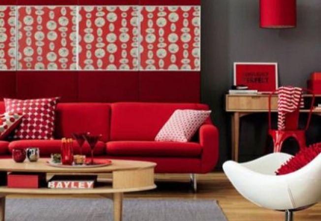 5 stiluri de design cu pasionala culoare rosu