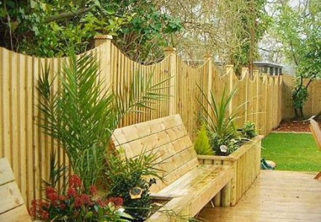 Idei interesante pentru amenajarea gardului din gradina