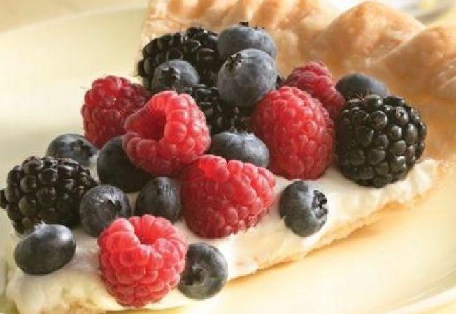 Tarta racoritoare cu fructe de padure