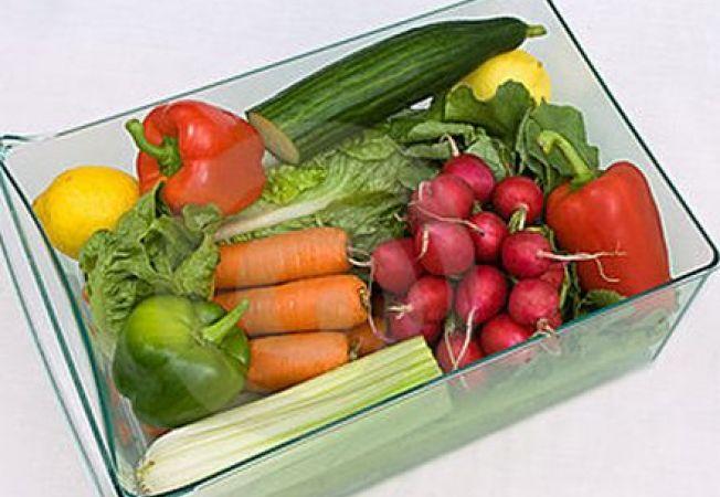 Sertarul frigiderului pentru legume, cuib al bacteriilor periculoase