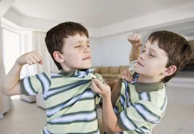 Comportamentul agresiv dintre frati, la fel de nociv ca intimidarea de la scoala