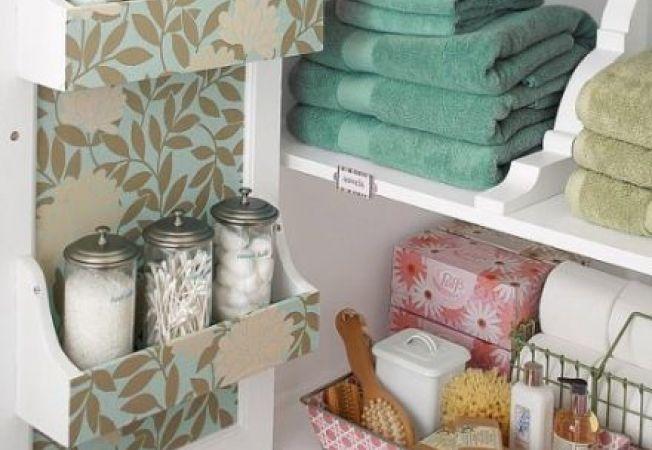 4 moduri in care sa depozitezi obiectele din baie
