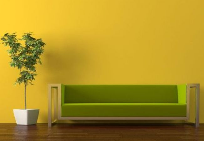 4 idei de design in verde si galben