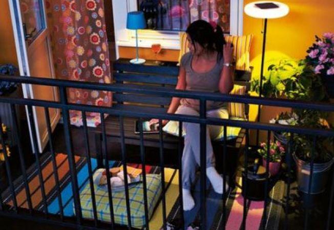 6 trucuri pentru depozitarea obiectelor in balcoane mici