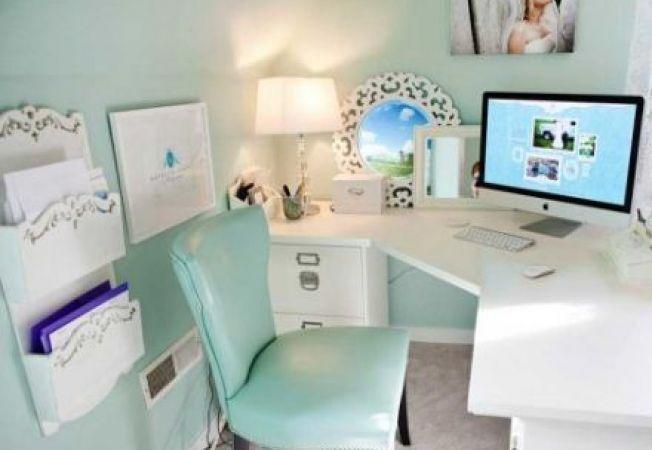 Top 6 cele mai potrivite culori pentru biroul de acasa