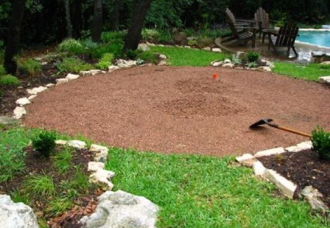 Pasii de instalare a granitului descompus